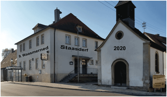 Turnierort Waasmerned Staasderf - Dorfgemeinschaftshaus Steinsdorf
